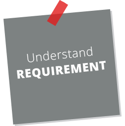 Understand requirement